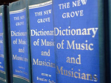 Grove Dictionary of Music and Musicians